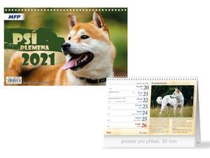 Obrázok Psí plemena - stolní kalendář 2021