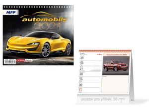 Obrázok Mini Automobily - stolní kalendář 2021