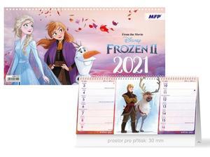 Obrázok DISNEY Frozen (čtrnáctidenní) - stolní kalendář 2021