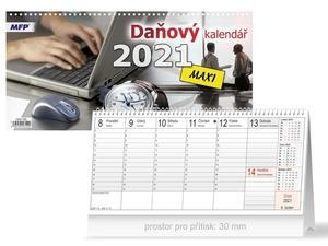 Obrázok Daňový MAXI - stolní kalendář 2021