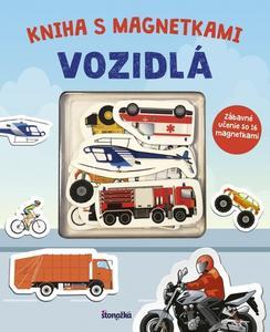 Obrázok Kniha s magnetkami Vozidlá