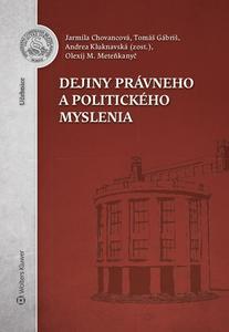 Obrázok Dejiny právneho a politického myslenia