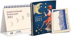 Obrázok Lunární kalendář Krásné paní 2021
