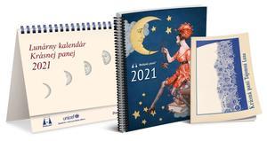 Obrázok Lunárny kalendár Krásnej panej 2021
