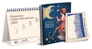 Obrázok Lunárny kalendár Krásnej panej 2021 maďarsky