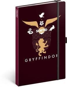 Notes Harry Potter Gryffindor linkovaný