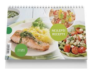 Obrázok Stolní kalendář - Nejlepší recepty 2021