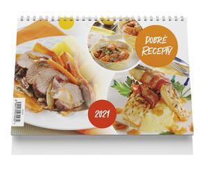 Obrázok Stolní kalendář - Dobré recepty 2021