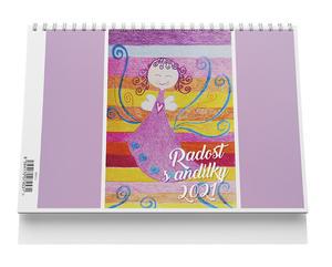 Obrázok Stolní kalendář - Radost s andílky 2021