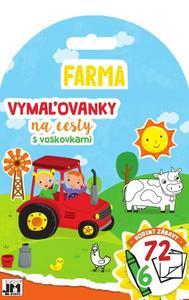 Obrázok Vymaľovanky na cesty Farma