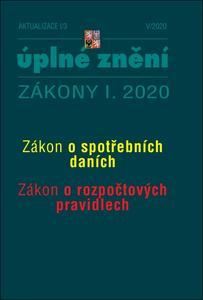 Obrázok Aktualizace I/3 2020 – Spotřební daně, Rozpočtová pravidla