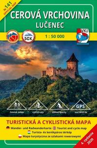 Obrázok Cerová vrchovina - Lučenec  1 : 50 000