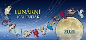 Lunární kalendář 2021 - stolní kalendář