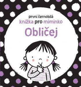 Obrázok První černobílá knížka pro miminko Obličej