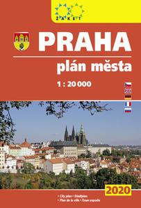Obrázok Praha plán města 1:20T knižní 2020
