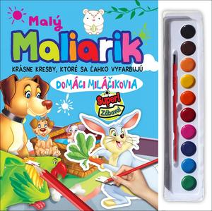 Obrázok Malý maliarik - domáci miláčikovia