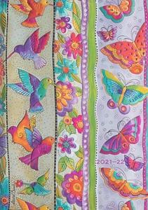 Obrázok Diář 2021/22 Hummingbirds & Flutterbyes