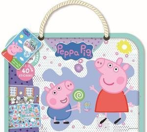 Obrázok Kreslící blok s podložkou Peppa Pig