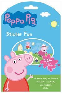 Obrázok Samolepková zábava Peppa Pig