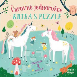 Obrázok Čarovné jednorožce Kniha s puzzle
