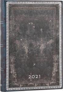 Obrázok Diář Midnight Steel 2021 DAY