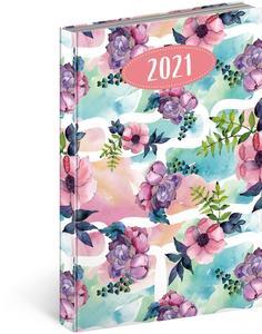 Denní diář Cambio Fun 2021, Květiny