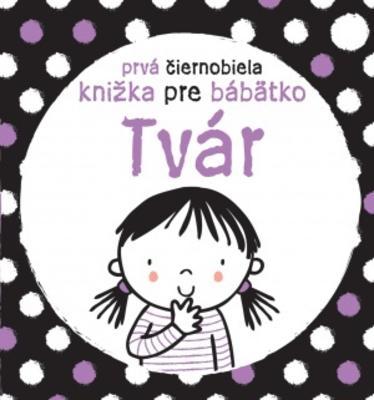 Obrázok Prvá čiernobiela knižka pre bábätko Tvár