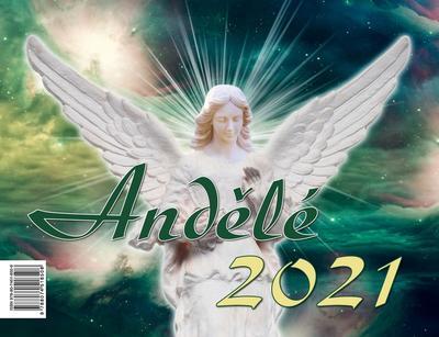 Obrázok Andělé 2021 - stolní kalendář