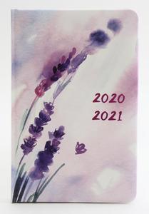 Obrázok Diář 2020-2021 Levandule 18 měsíční