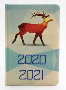 Obrázok Diář školní 2020-2021 Polygonová zvířata18 měsíční