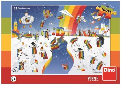 Obrázok Puzzle 100 XL ČT Déčko