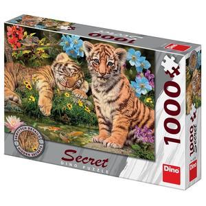 Obrázok Puzzle 1000 Tygříci secret collection