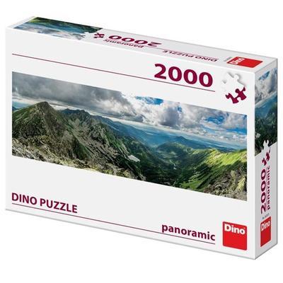 Obrázok Puzzle 2000 Roháče panoramic