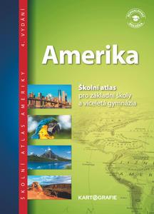 Obrázok Amerika Školní atlas