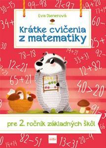 Obrázok Krátke cvičenia z matematiky  pre 2. ročník ZŠ