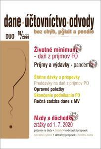 Obrázok DUO 10/2020 – Životné minimum a daň z príjmov FO