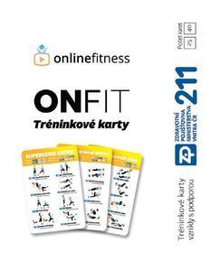 Obrázok ONFIT Tréninkové karty 40 karet