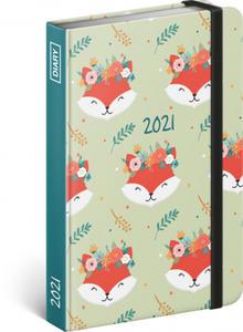 Obrázok Týdenní diář Lišky 2021