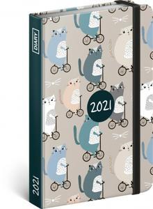 Obrázok Týdenní diář Kočky 2021
