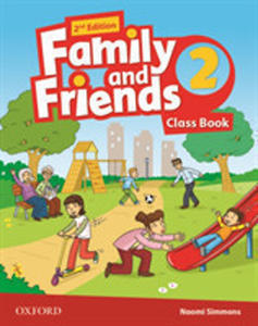 Obrázok Family and Friends 2nd Edition 2 Course Book