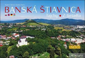 Obrázok Banská Štiavnica Tajchy z lietadla
