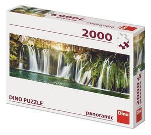 Obrázok Puzzle 2000 Plitvické vodopády Panoramic