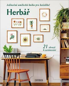 Obrázok Herbář Jedinečná umělecká kniha pro každého! 21 obrazů k zarámování