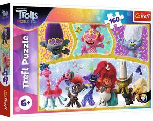 Obrázok Puzzle Trollové 2 Buď šťastný
