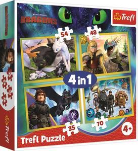 Puzzle Jak vycvičit draka 4v1