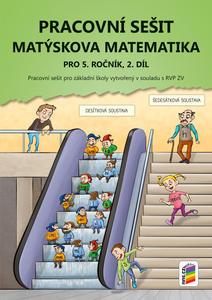 Obrázok Matýskova matematika pro 5. ročník, 2. díl, Pracovní sešit