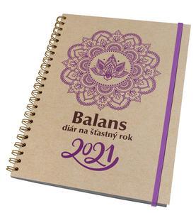 Obrázok Balans diár na šťastný rok 2021