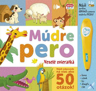 Obrázok Múdre pero Veselé zvieratká