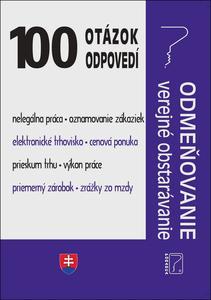 Obrázok 100 otázok • odpovedí – Odmeňovanie – verejné obstarávanie