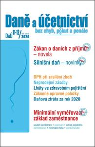 Obrázok Daně a účetnictví bez chyb, pokut a penále  11-12/2020